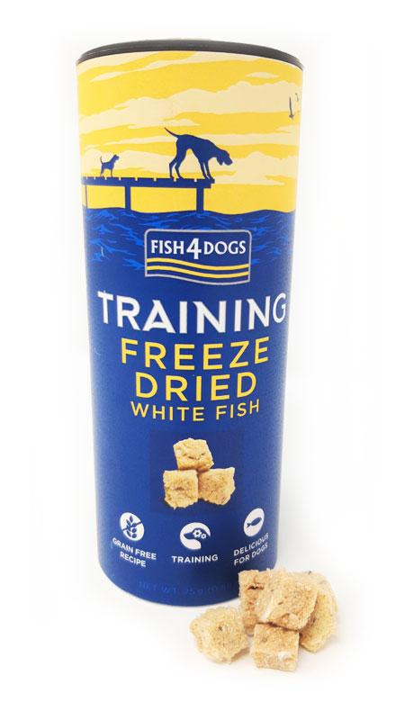 Przysmaki treningowe dla psa Fish4Dogs Freeze Dried