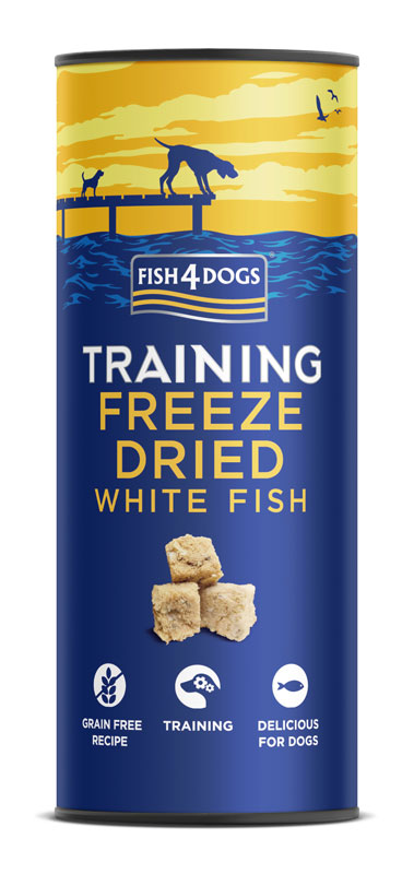 Przysmaki treningowe dla psa Fish4Dogs Freeze Dried