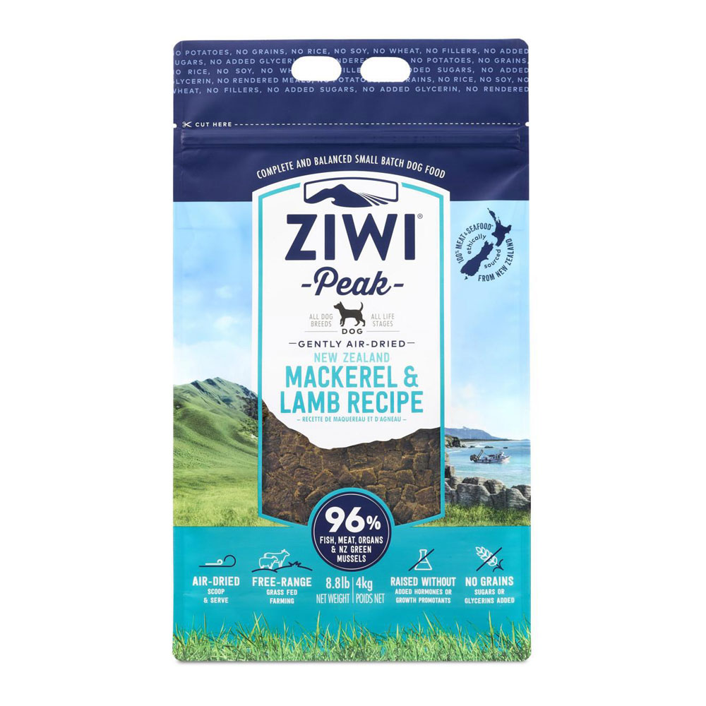 Karma dla psa Ziwi Peak Mackerel&Lamb - Makrela i Jagnięcina 1 kg front