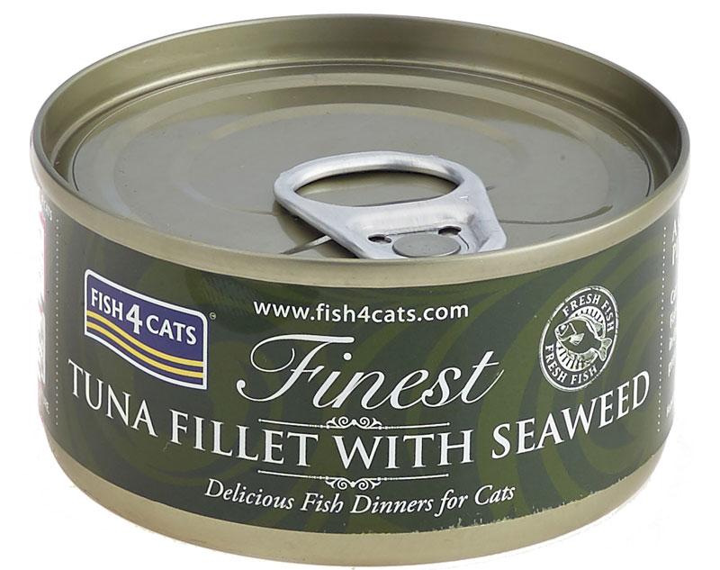 Karma mokra dla kota Fish4Cats Tuńczyk z Algami