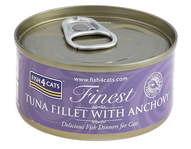 Karma mokra dla kota Fish4Cats Tuńczyk z Anchois