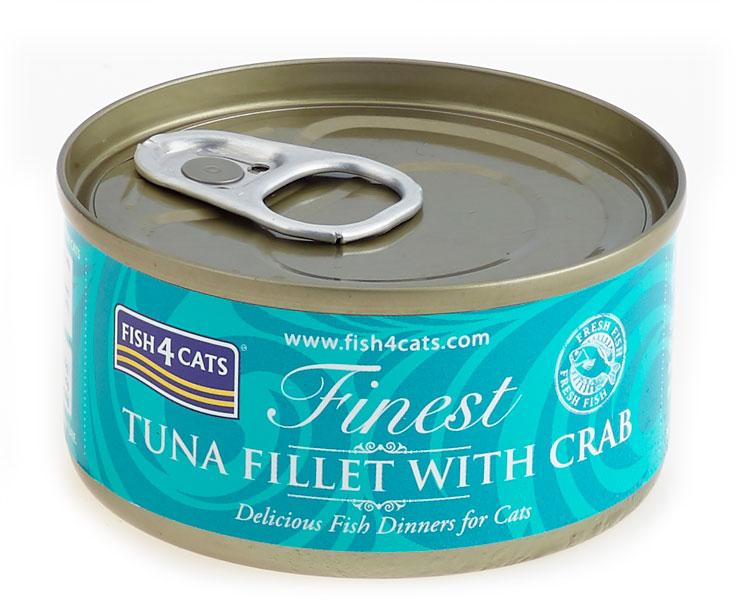 Karma mokra dla kota Fish4Cats Tuńczyk z Krabami