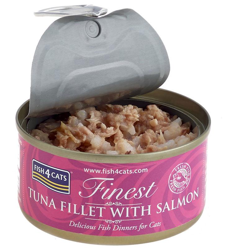 Karma mokra dla kota Fish4Cats Tuńczyk z Łososiem