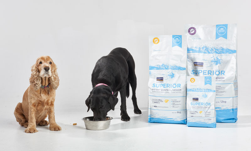 Karma dla psa odchudzająca Fish4Dogs Superior Weight Control z Łososia