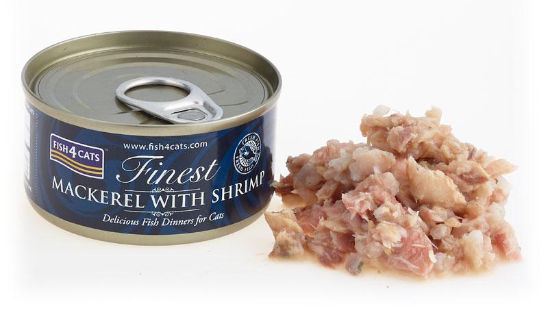 Karma mokra dla kota Fish4Cats Makrela z Krewetkami
