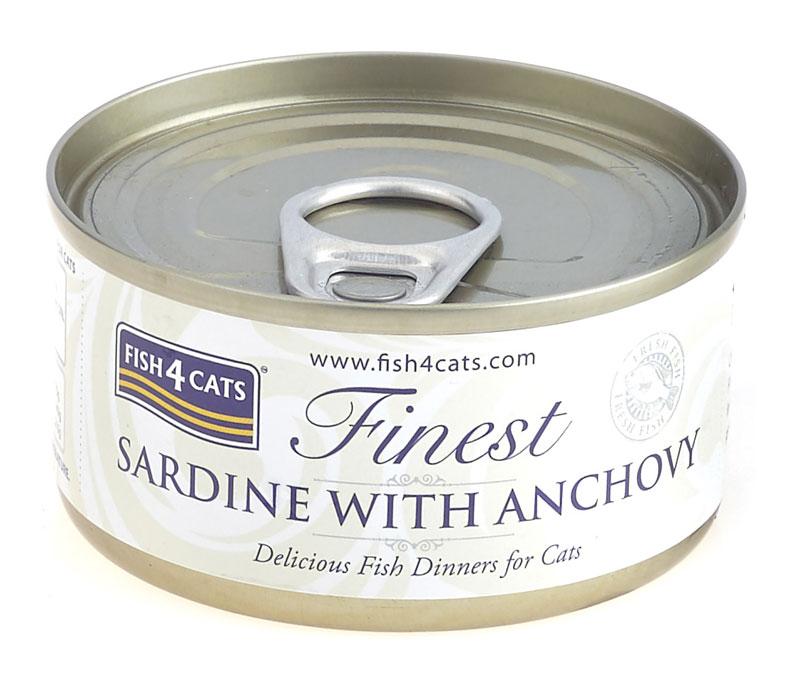 Karma mokra dla kota Fish4Cats Sardynka z Anchois