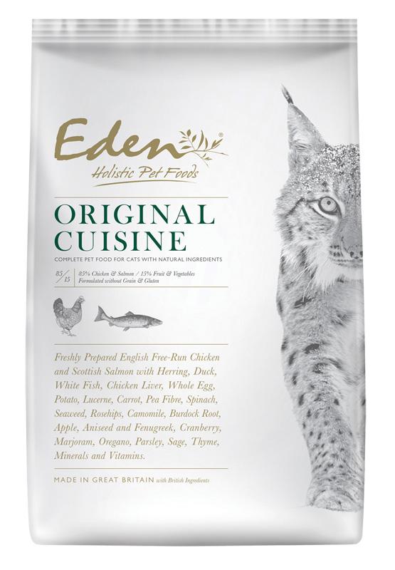Karma dla kota Eden Country Kurczak, Łosoś i Śledź