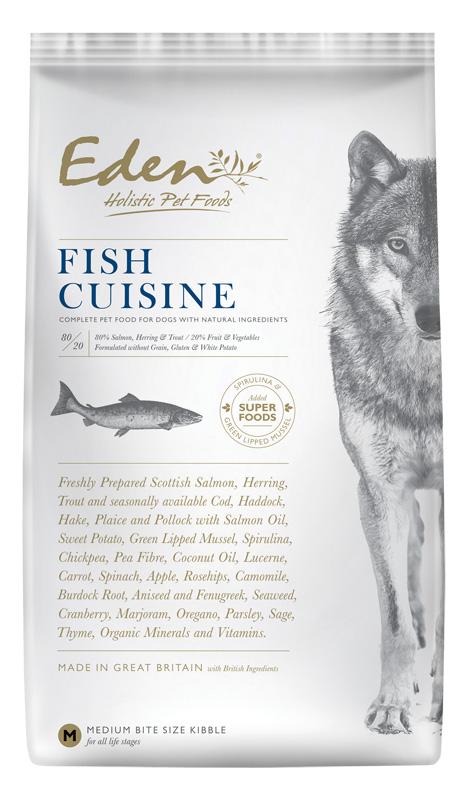 Karma dla psa Eden Fish Szkocki Łosoś i Śledź Północnoatlantycki