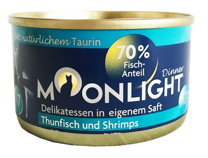 Karma mokra dla kota Moonlight Dinner 7 - Tuńczyk i Krewetki