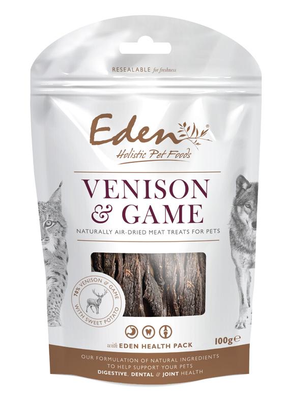 Przysmaki dla psa Eden Jeleń i Dziczyzna na zęby, stawy i żołądek