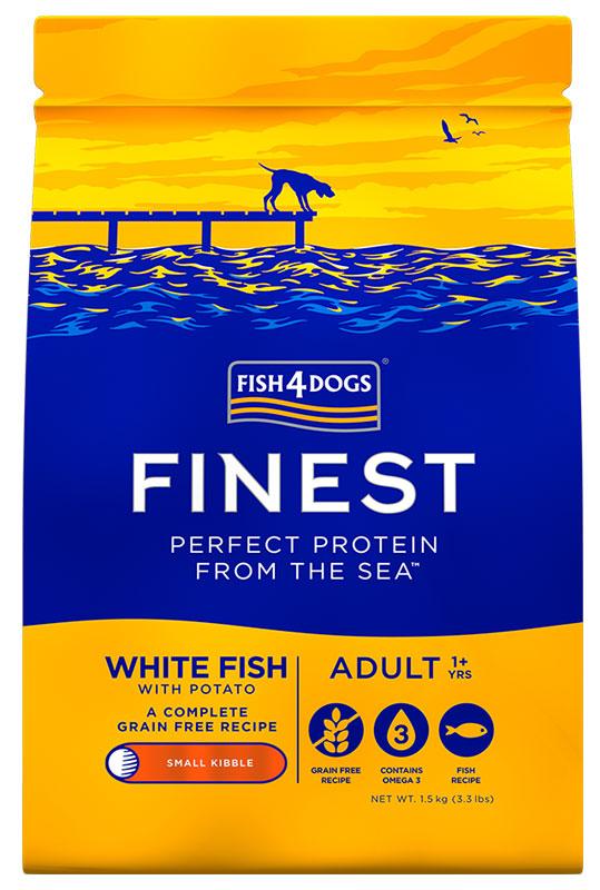 Karma dla psa Fish4Dogs Finest White Fish z Białej Ryby Oceanicznej