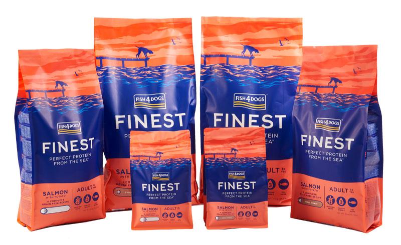 Karma dla psa Fish4Dogs Finest Salmon Complete z Łososia
