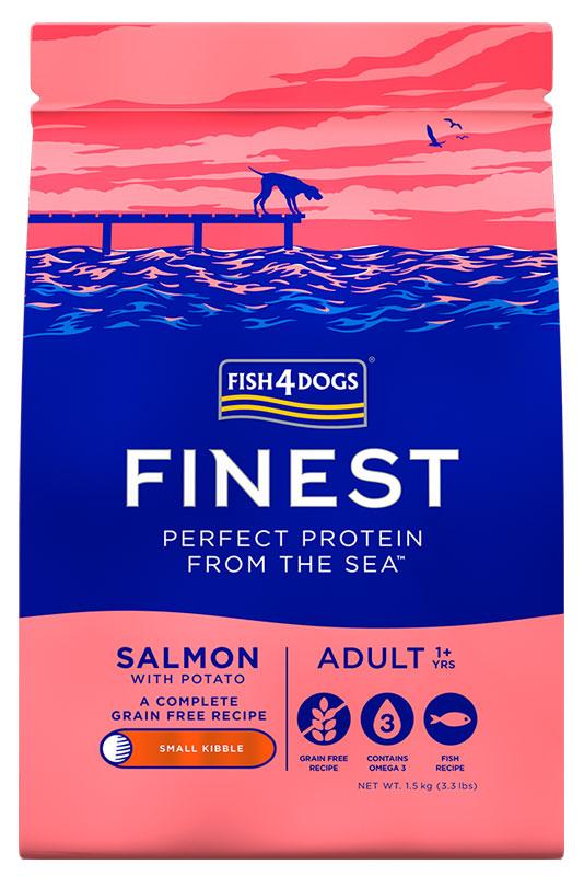 Karma dla psa Fish4Dogs Finest Salmon z Łososia
