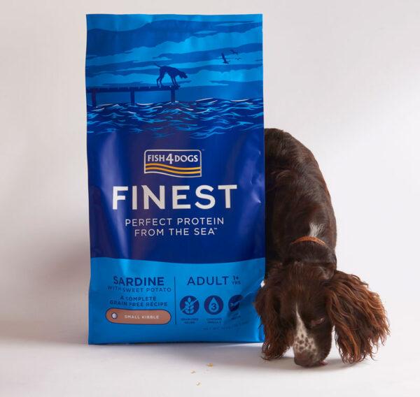 Karma dla psa Fish4Dogs Finest z Sardynki Kornwalijskiej