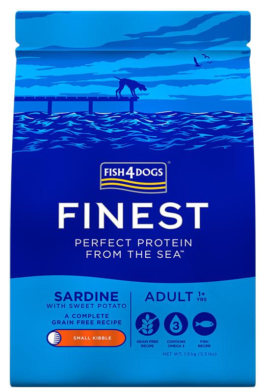 Karma dla psa Fish4Dogs Finest Sardine z Sardynki