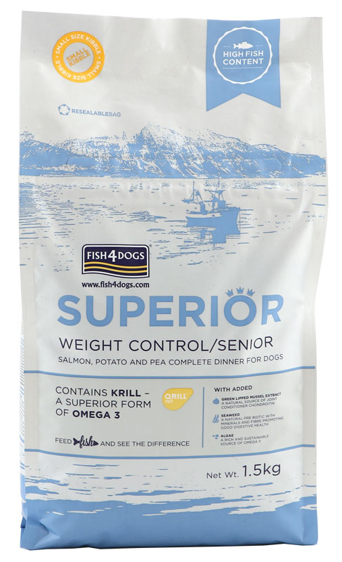 Karma dla psa Fish4Dogs Superior Weight Control