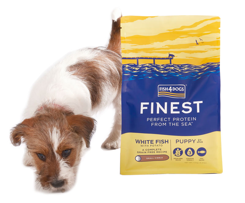 Karma dla szczeniaka Fish4Dogs Finest Puppy Complete z Białej Ryby