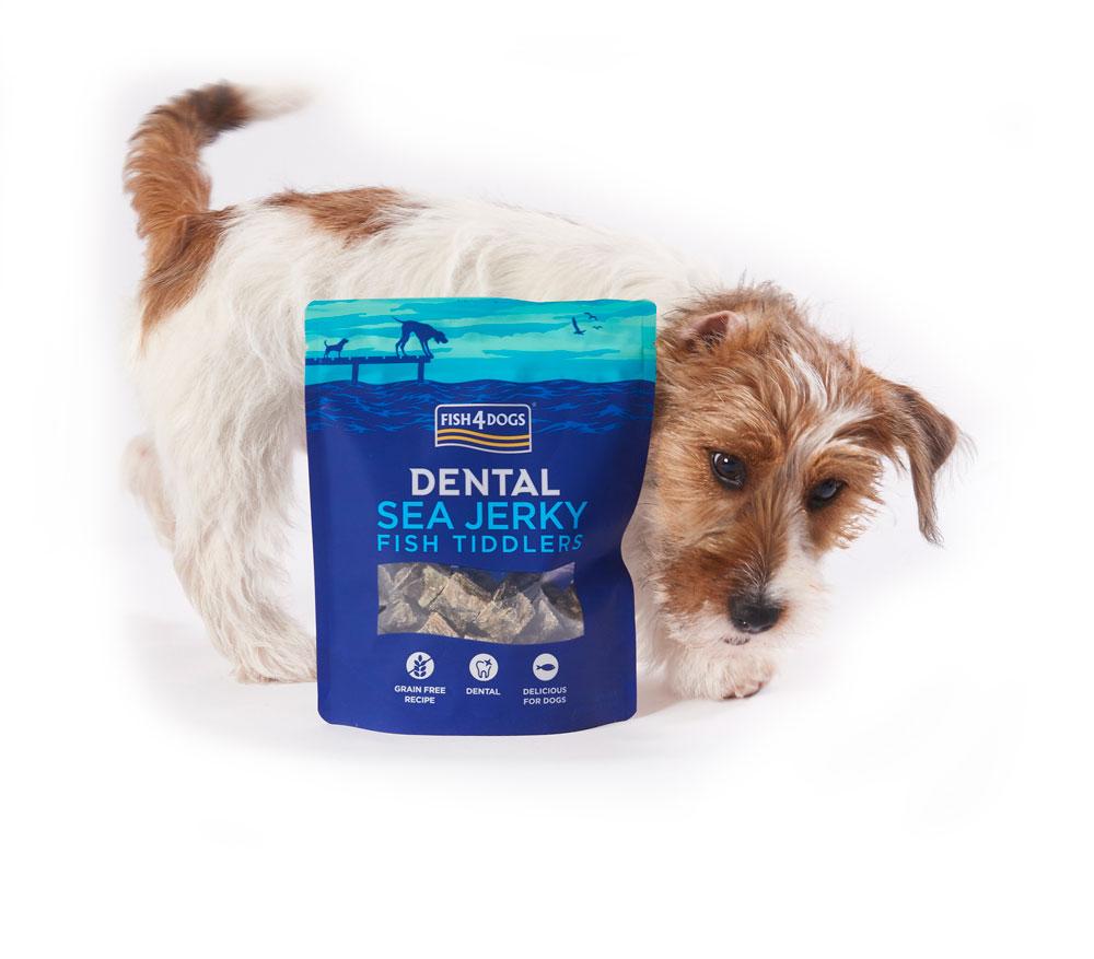 Przysmaki dentystyczne dla psa Fish4Dogs Sea Jerky Tiddlers
