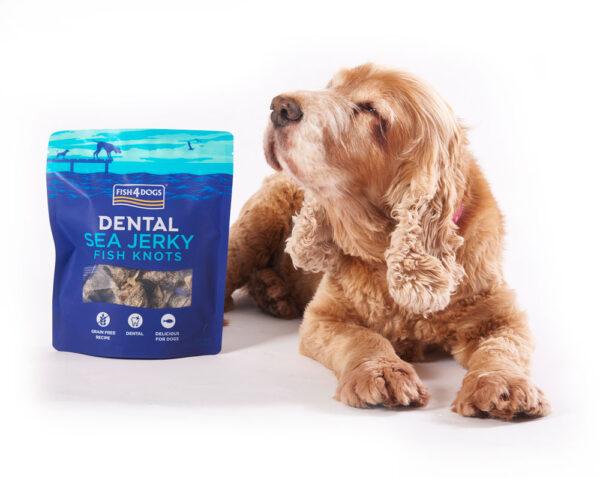 Przysmaki dentystyczne dla psa Fish4Dogs Sea Jerky Fish Knots