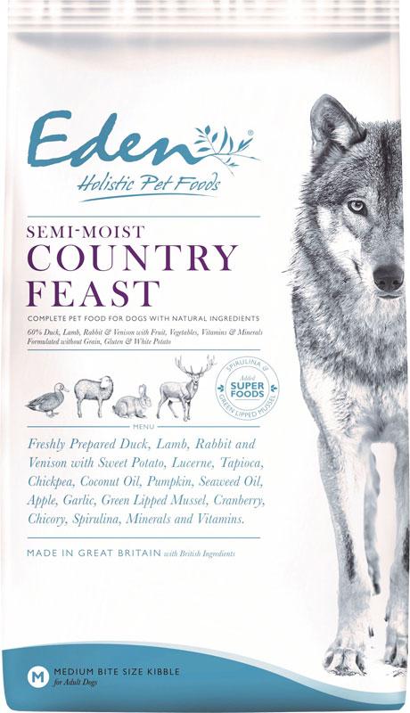Karma półwilgotna dla psa Eden Country Feast