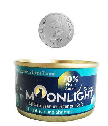 Karma mokra dla kota Moonlight Dinner Nagroda