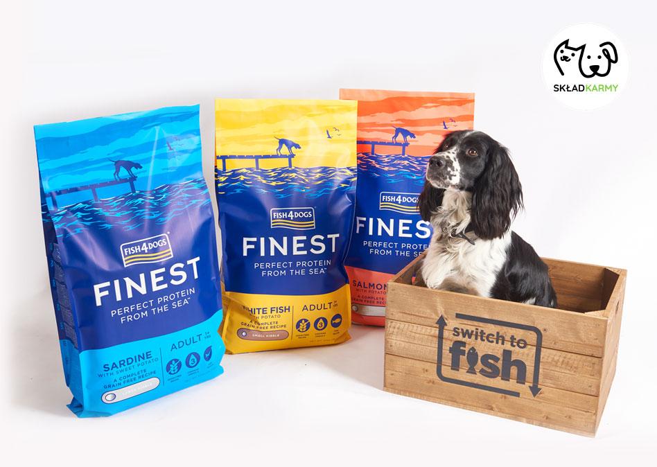 Wrażliwy układ pokarmowy psa w Skład Karmy
