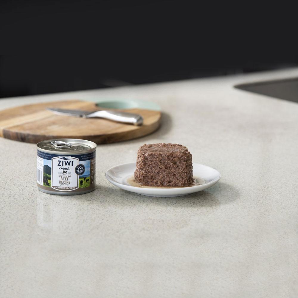 karma dla kota Ziwi Peak Beef - Wołowina puszka 185g