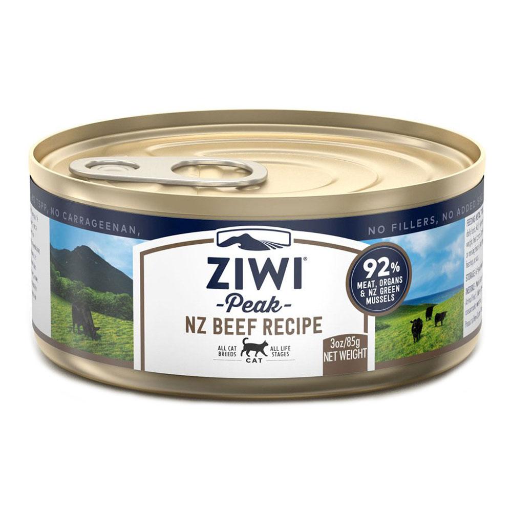 karma dla kota Ziwi Peak Beef - Wołowina puszka 85g front