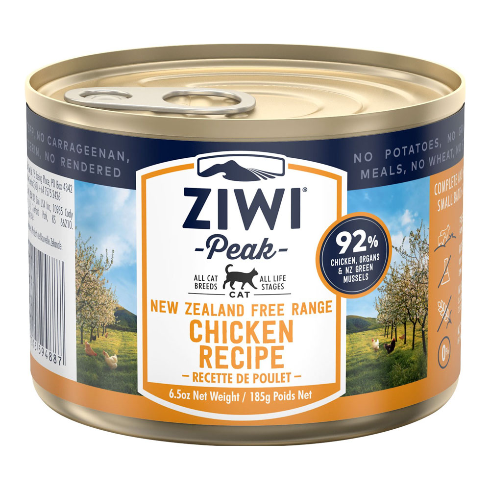 karma dla kota Ziwi Peak Chicken - Kurczaka puszka 185g front