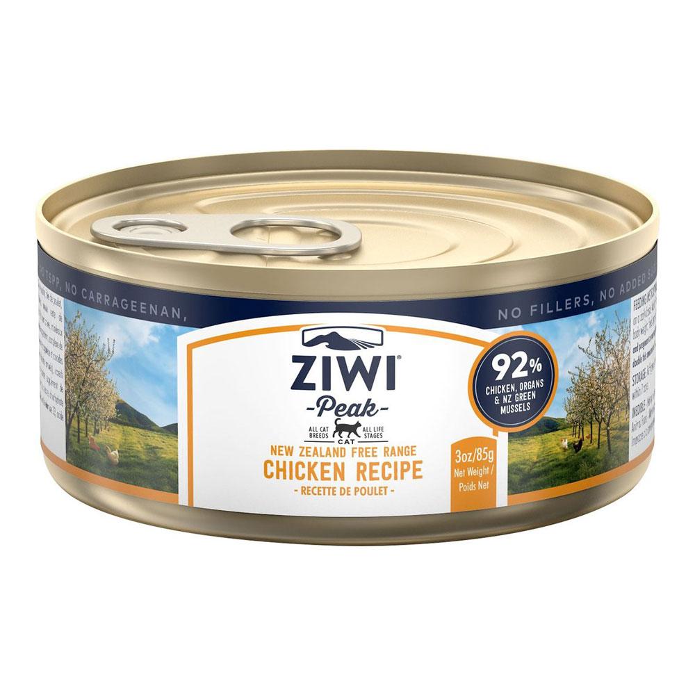 karma dla kota Ziwi Peak Chicken - Kurczaka puszka 85g front