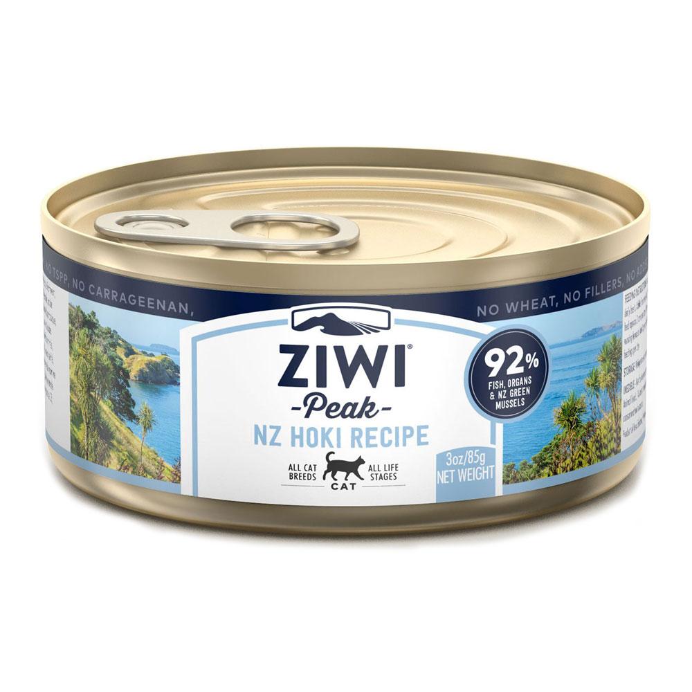 karma dla kota Ziwi Peak Hoki - Murina puszka 85g front