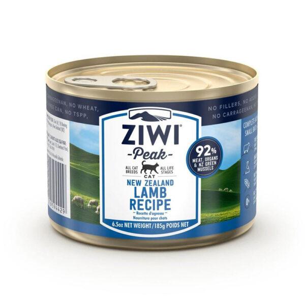 karma dla kota Ziwi Peak Lamb - Jagnięcina puszka 185g front
