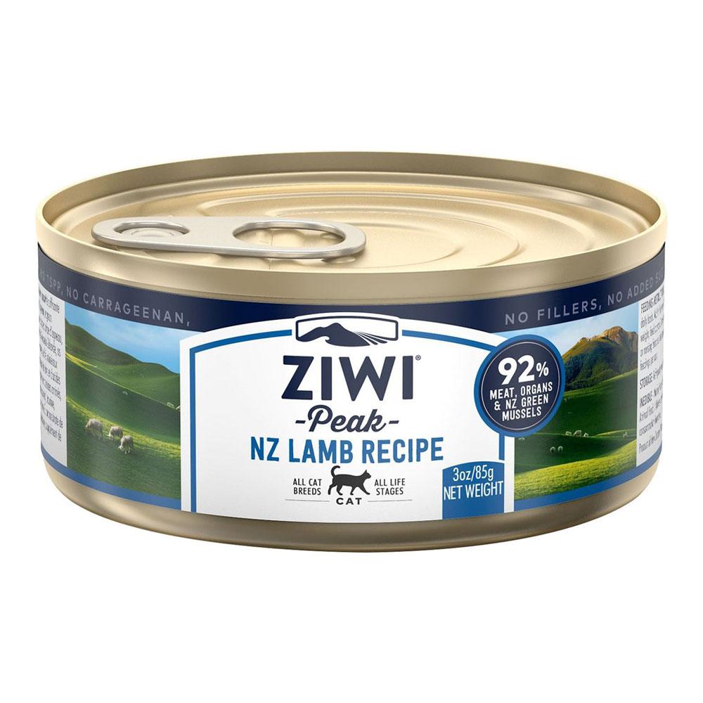 karma dla kota Ziwi Peak Lamb - Jagnięcina puszka 85g front