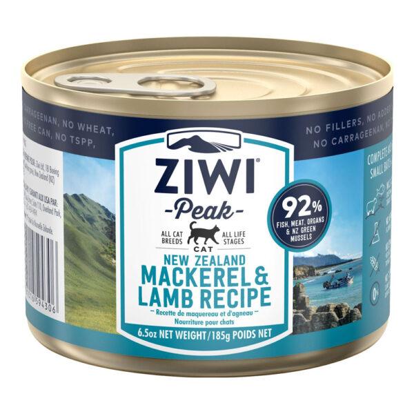 Ziwi Peak Dog Mackerel & Lamb - Makrela i Jagnięcina puszka 185g front
