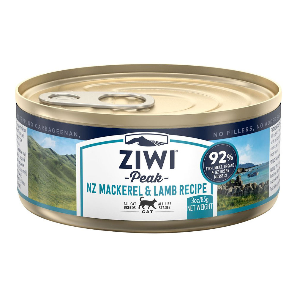 Ziwi Peak Dog Mackerel & Lamb - Makrela i Jagnięcina puszka 85g front