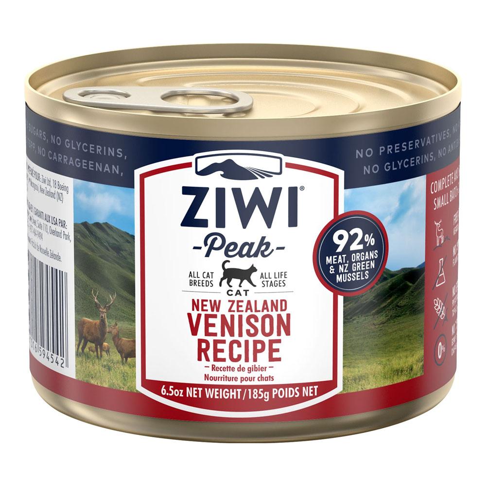 karma dla kota Ziwi Peak Venision - Dziczyzna puszka 185g front