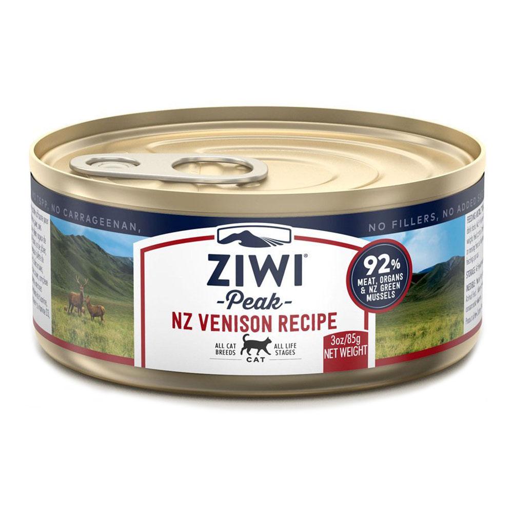 karma dla kota Ziwi Peak Venision - Dziczyzna puszka 85g front