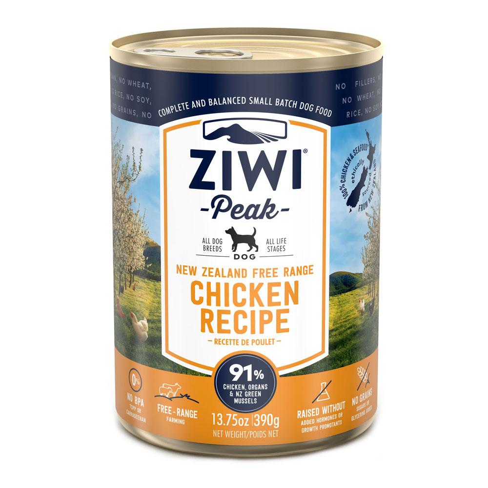 Ziwi Peak Dog Chicken - Kurczak puszka 390g front