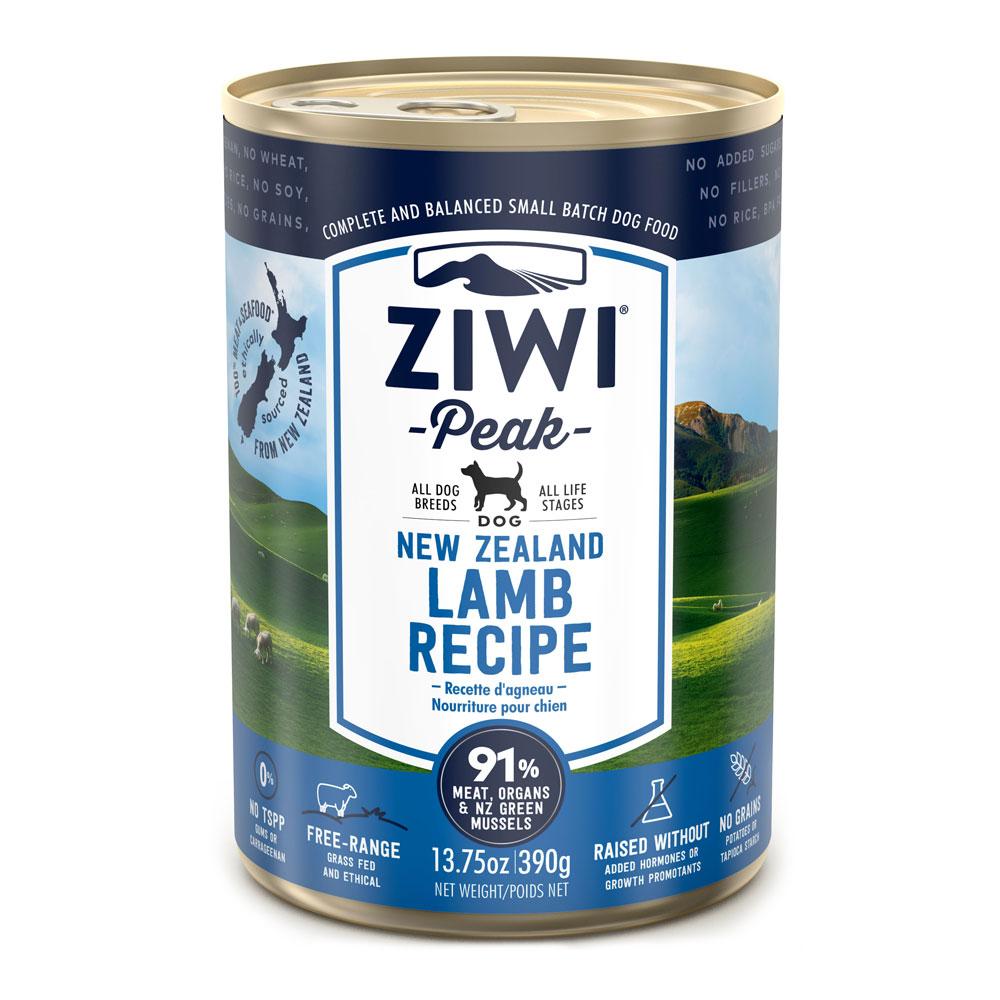 Ziwi Peak Dog Lamb - Jagnięcina puszka 390g front