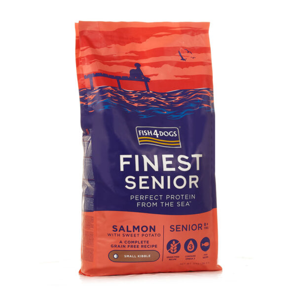 Karma dla psa Fish4Dogs Finest Senior Salmon z Łososiem