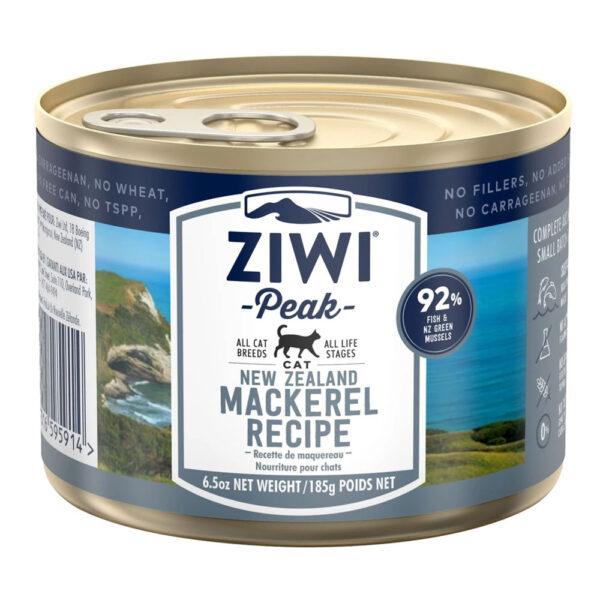karma dla kota Ziwi Peak Mackerel - Makrela puszka 185g front
