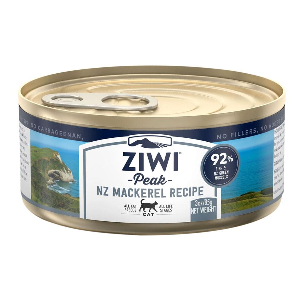 karma dla kota Ziwi Peak Mackerel - Makrela puszka 85g front