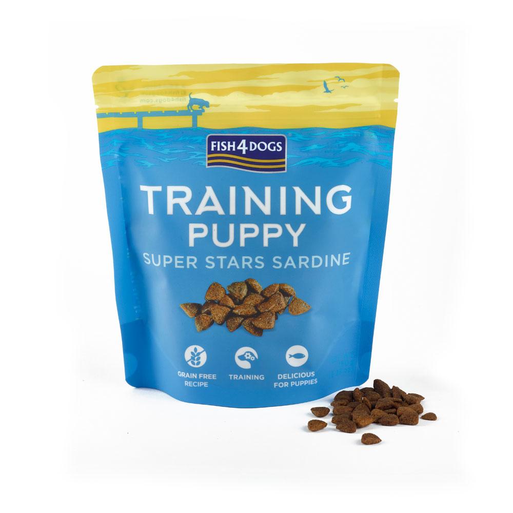 Przysmaki Treningowe dla szczeniaka Fish4Dogs Puppy Super Stars